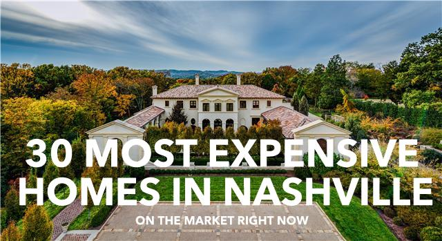 Most Expensive Homes in Nashville