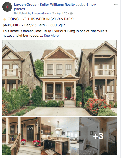 Layson Group Keller Williams Realty Home