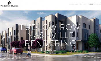 Ludlow Row Nashville Rendering — Bobby Parker