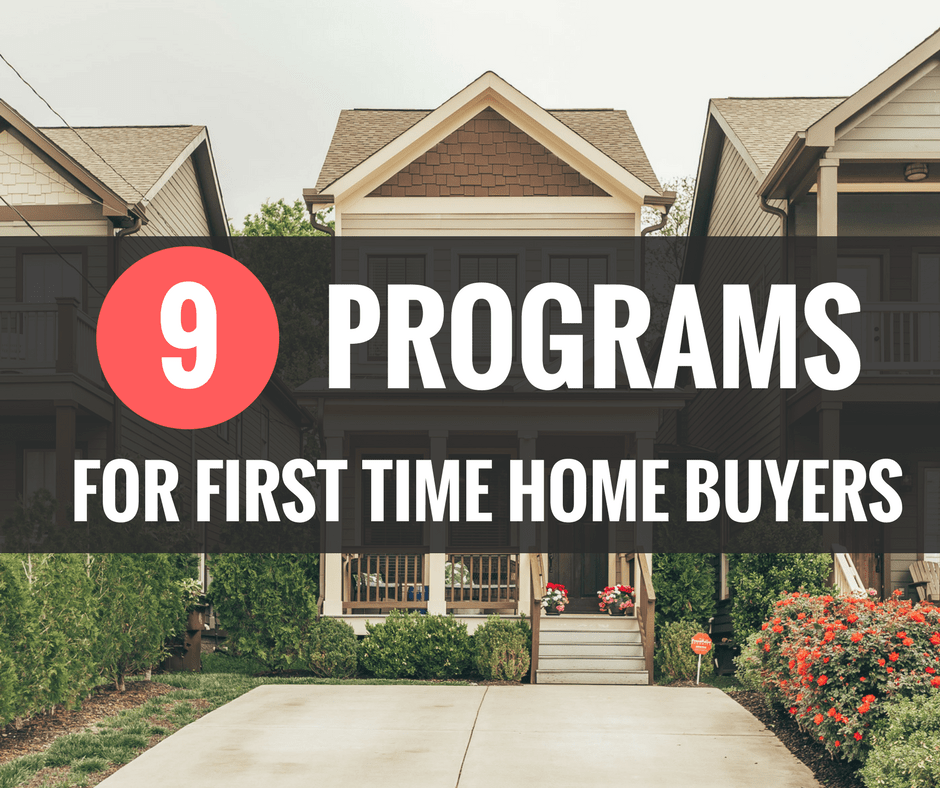 Deals for first time home buyers 2018